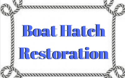 Boat Hatch Resoration