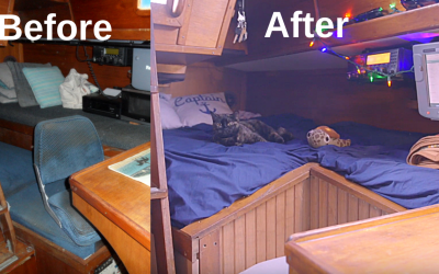 Quarter Berth Refit